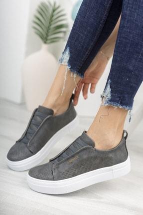 Chekich Ch011 Kadın Ayakkabı Antrasit