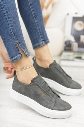 Chekich Ch013 Kadın Ayakkabı Antrasit